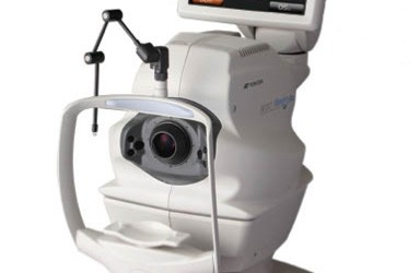 Latest eye care imaging technology available at Mackay Optometrist Eyes R Us